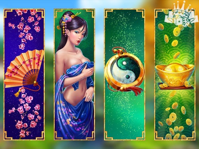High symbols of the Japanese slot game slot game symbols slot game art chinese design chinese symbols chinese slot chinese themed symbol icon symbols slot slot game graphics slot machine graphics slot machine art slot design slot symbol design slot symbols gambling game art game design