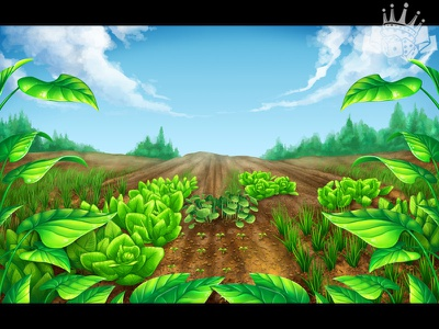 Garden Themed slot game Background slot game design slot game art slot game graphics garden design background image background illustration background design garden background garden themed garden slot garden illustration garden symbols gardening garden game art gambling game design