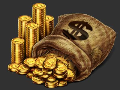 Money Bag Slot Machine Symbol Design Art Sketch Online Wild West