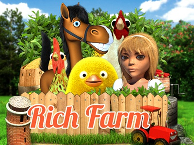 "Slot machine - ""Rich farm"""