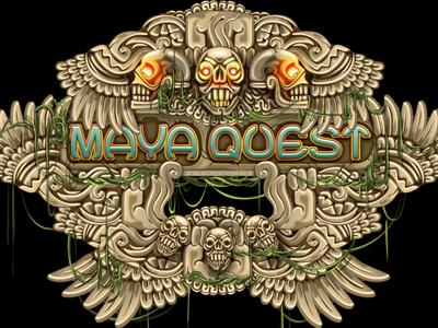 "Slot machine - ""Maya Quest"""