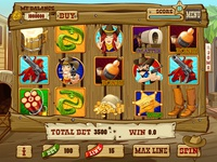 "For SALE Slot machine - ""Cowboy Coin Rush"""