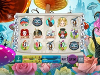 "For SALE Slot machine - ""Wonderland"""