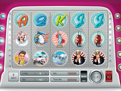 "Slot machine for SALE – ""Pin-Up"""