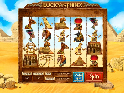 "Slot machine for SALE – ""Lucky Sphynx"""