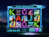 "Slot machine for SALE – ""Alien Adventure"""