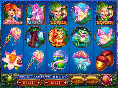 """Slot machine for SALE – """"Fairies"""""""