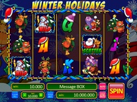 "Slot machine for SALE – ""Winter Holidays"""