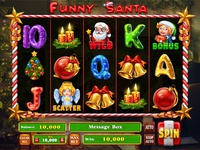 "Slot machine for SALE – ""Funny Santa"""