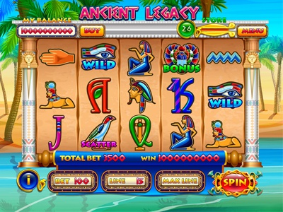 "Slot machine for SALE – ""Ancient Legacy"""