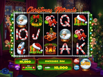 "Slot machine for SALE – ""Christmas Miracle"""