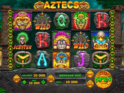 """Slot machine for SALE – """"Aztecs"""""""