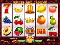 "Slot machine for SALE – ""Fruits and Crowns"""