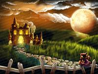 Illustration for slot game - Background