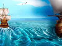 Background Illustration of Online Slot