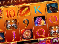 "Slot machine for SALE – ""Queen of Embers"""