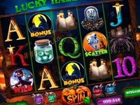 "Slot machine for SALE – ""Lucky Halloween"""