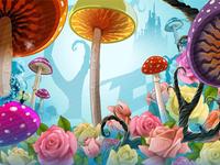 "Main Image of the slot game ""Wonderland"""