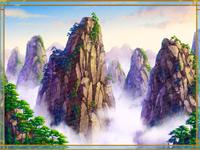 Illustration of the Slot Game Background