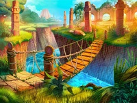 Bridge - Main Background of the Slot game