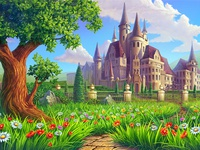 Castle - The main background for the online slot