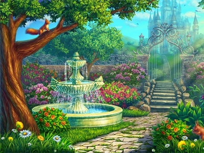 The Garden Of Roses By Slotopaint On Dribbble