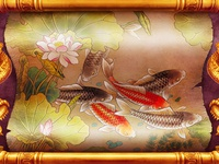 Fishes - Another Background for the online slot game.