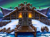 Main illustration for online slot game «Nordic Kingdom»
