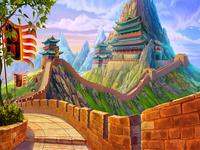 "Illustration of the casino slot ""Emperor Qin"""