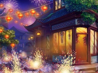 Background Illustration for Chinese Themed Online slot