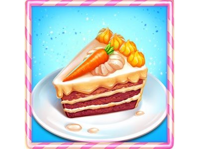 Carrot Cake By Slotopaint On Dribbble
