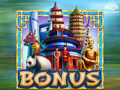 "All the sights of China in one ""Bonus"" slot symbol"