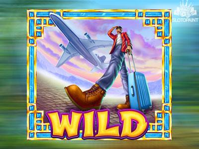Traveling Scene - WILD slot symbol