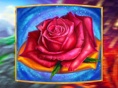A Rose  - online slot symbol