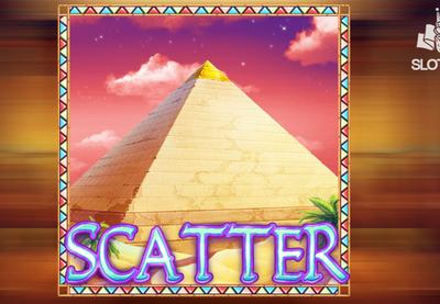 The Egyptian pyramids slot symbol