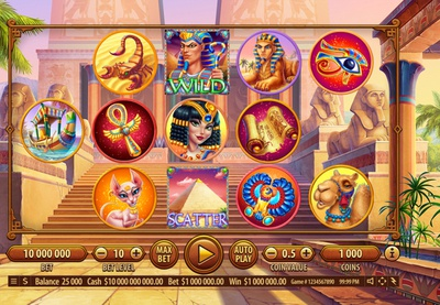 Egyptian Themed Game Reel