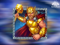 Thor as a Scatter symbol of the slot game 🎰🎰🎰⁠