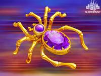 A Spider slot symbol