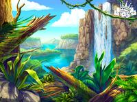 Background Art for King Kong slot game 🦍🦍🦍