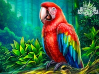 A scarlet Macaw - slot symbol 🦜🦜🦜