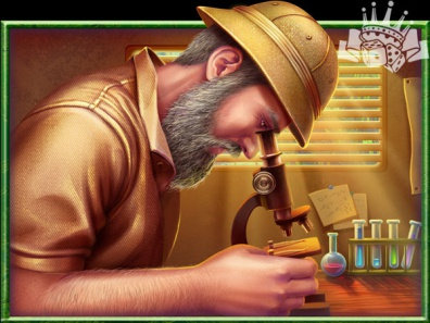 A Geologist - another symbol of King Kong slot game 🎰🎰🎰