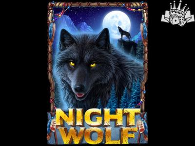 Wolves Themed slot game Logo