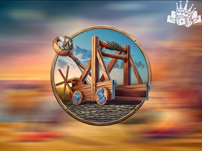"""Catapult is an ancient """"artillery"""" throwing machine"""
