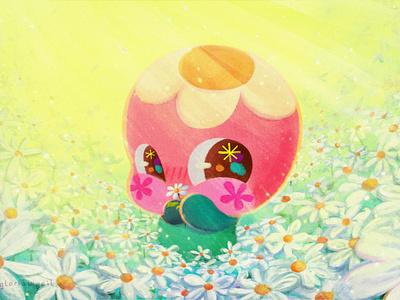 Daisies 🌼🌼🌼 digital painting painting cute illo daisies daisy flower characterdesign minimal illustration flat design animation