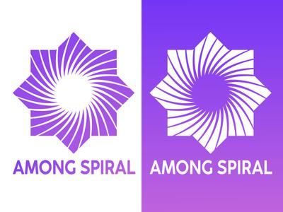 Among Spiral Logo
