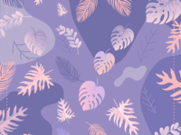 Scarf Pattern (Soft Purple Theme)