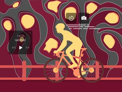 Bicycle UI (Lock Screen) Idle Design