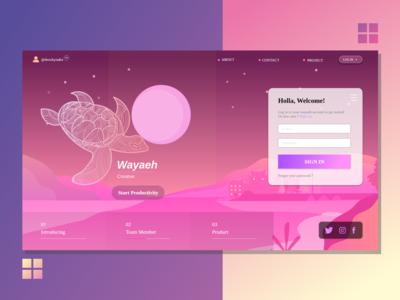 Wayaeh User Interface Design
