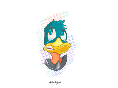 Duck Illustrator (Sketching Style)