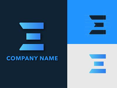 Logo Design Concept logo design branding e letter logo e letter e monogram tech logo software branding branding software logo design concept logo logo design